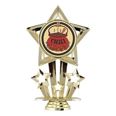 PSF Star Figure - Chili Mylar [+$1.50]
