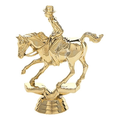 Rodeo - Cutting Horse, Male Rider [+$1.50]
