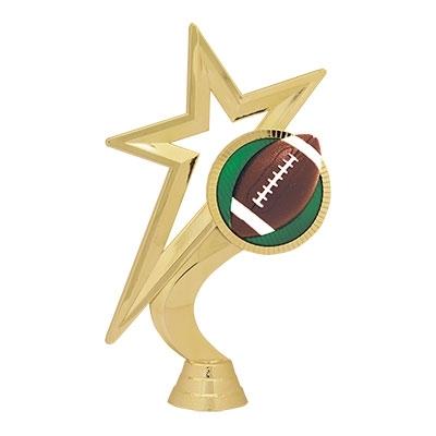 Gold Star Figure - Football [+$1.00]