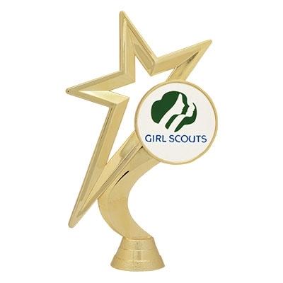 Gold Star - Girl Scout Mylar [+$1.50]