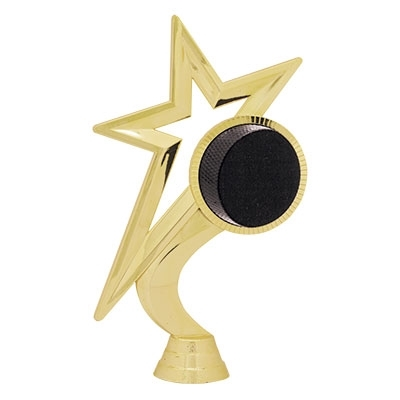 Gold Star Figure - Hockey [+$0.50]