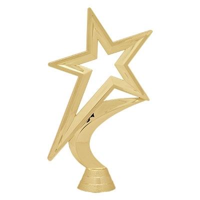 Gold Star Figure [+$0.50]