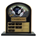 Upright Perpetual Plaque - Bowling