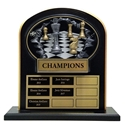 Upright Perpetual Plaque - Chess