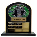 Upright Perpetual Plaque - Golf, Male