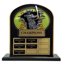 Upright Perpetual Plaque - Softball