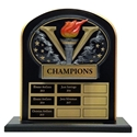 Upright Perpetual Plaque - Victory